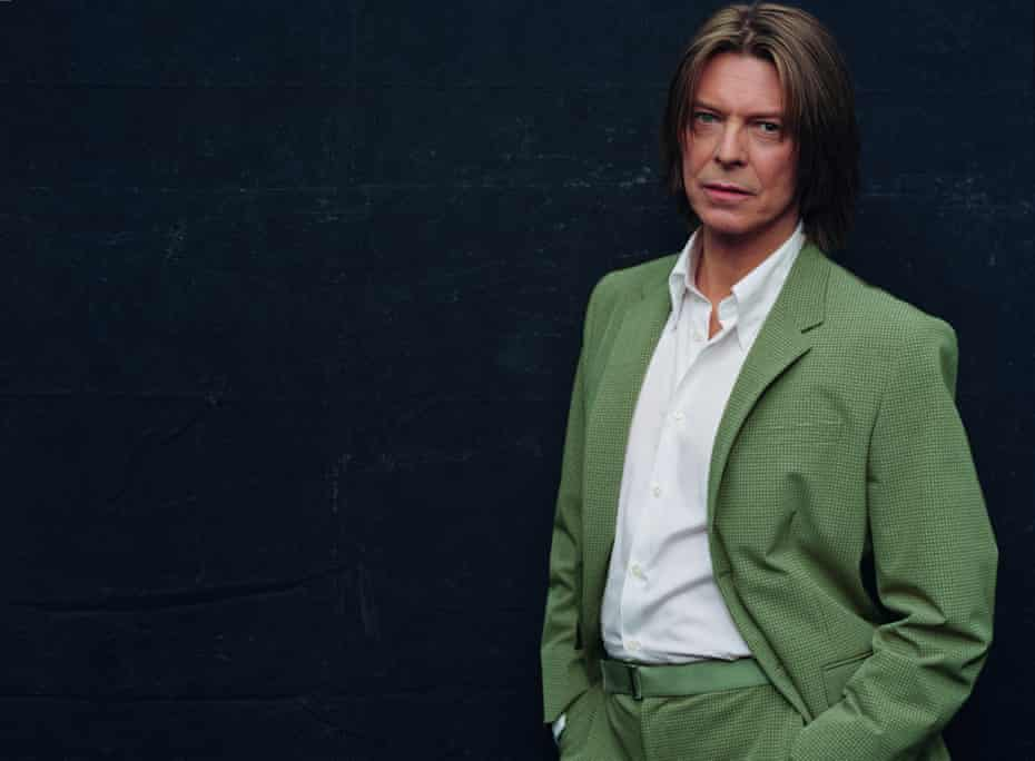 A previously unseen portrait of David Bowie from the Toy era.