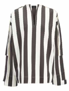 Striped shirt, was £295, now £180 from josephfashion.com.