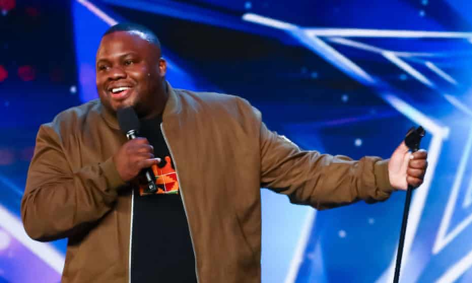 'A lot of comics just say what everybody wants to hear' … Nabil Abdulrashid on Britain's Got Talent.