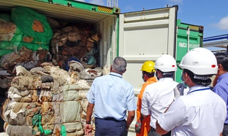 Sri Lanka returns illegal waste to Britain | Sri Lanka | The Guardian