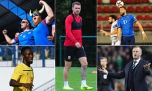 (Clockwise from top left) Iceland will be up against it in Turkey, Aaron Ramsey returns for Wales, Kosovo's key man could be Atdhe Nuhiu, Michael O'Neill bids farewell and Guinea look to Naby Keïta.
