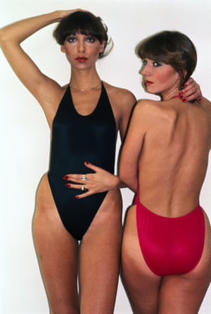 The mini-maillot, 1977, by Monika Tilley for Elon of California.