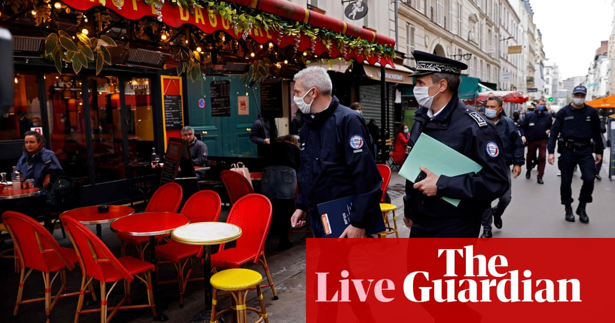 Coronavirus live news: France sets daily record 20000 cases; Australian state of Victoria reports 14 new infections – The Guardian