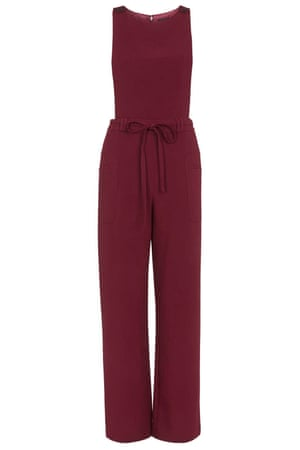"""Best for layering.<br>£65, <a href=""""http://www.topshop.com/en/tsuk/product/clothing-427/playsuits-jumpsuits-2159081/tabard-pinafore-jumpsuit-4583720?bi=1&amp;ps=20"""">topshop.com</a>"""