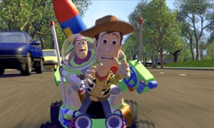 Buzz Lightyear and Woody's struggle for survival … Toy Story.