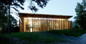 Utøya. Memorial and learning centre, Utoya, Norway