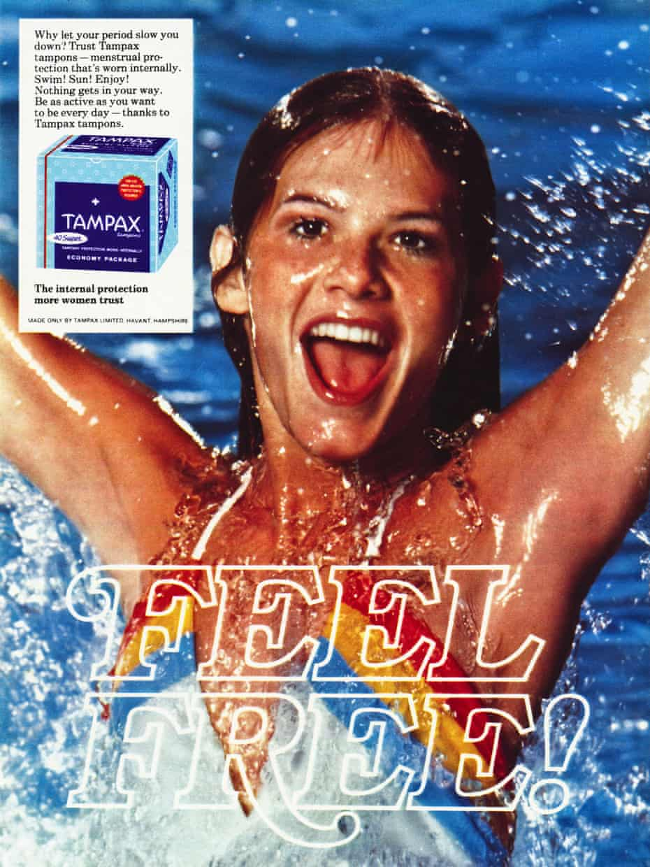 A 1970s Tampax advertisement.