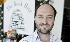 Henry Layte at The Book Hive, Norwich.