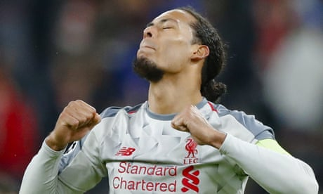 Virgil van Dijk's composure proves decisive on Vegas night for Liverpool | Barney Ronay