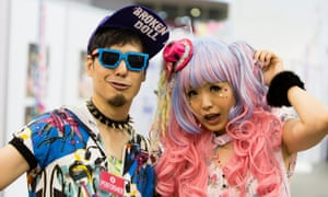 Attendees at Hyper Japan, the festival that celebrates Japanese fashion, culture, food, music and more.