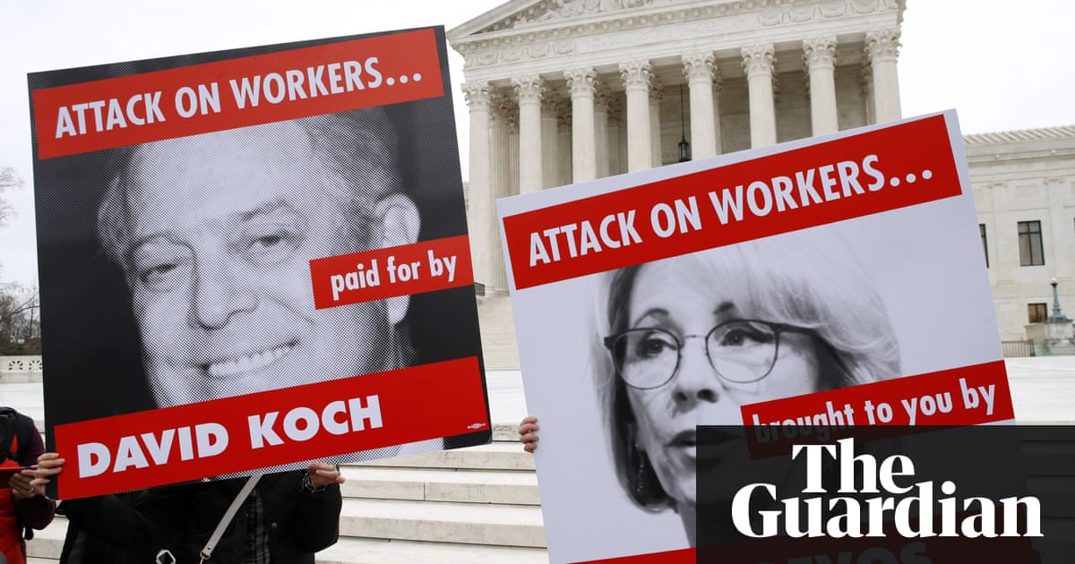 Exclusive: how rightwing groups wield secret 'toolkit' to plot against US unions