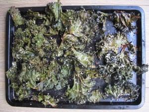 Anna Jones's kale chips.