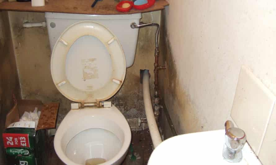 Enforcement officers found 107 people living in 32 rooms, sharing three kitchens, six toilets and six showers.