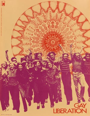A gay liberation poster designed by Su Negrin, with photograph by Peter Hujar, 1970