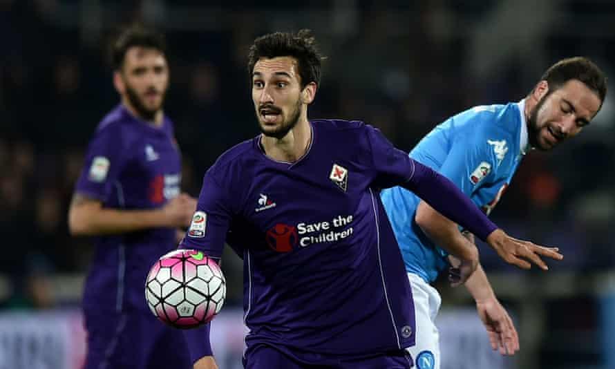 Davide Astori was the Fiorentina captain.