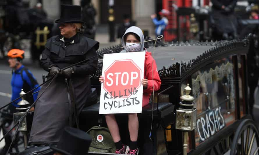 Stop Killing Cyclists protesters