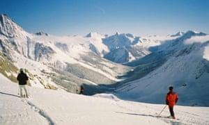 Jumbo Glacier in British Columbia, where developers plan to build a new ski resort on land the Ktunaxa people regard as sacred.