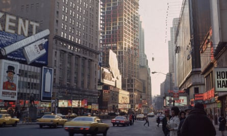 The streets of New York in 1972.