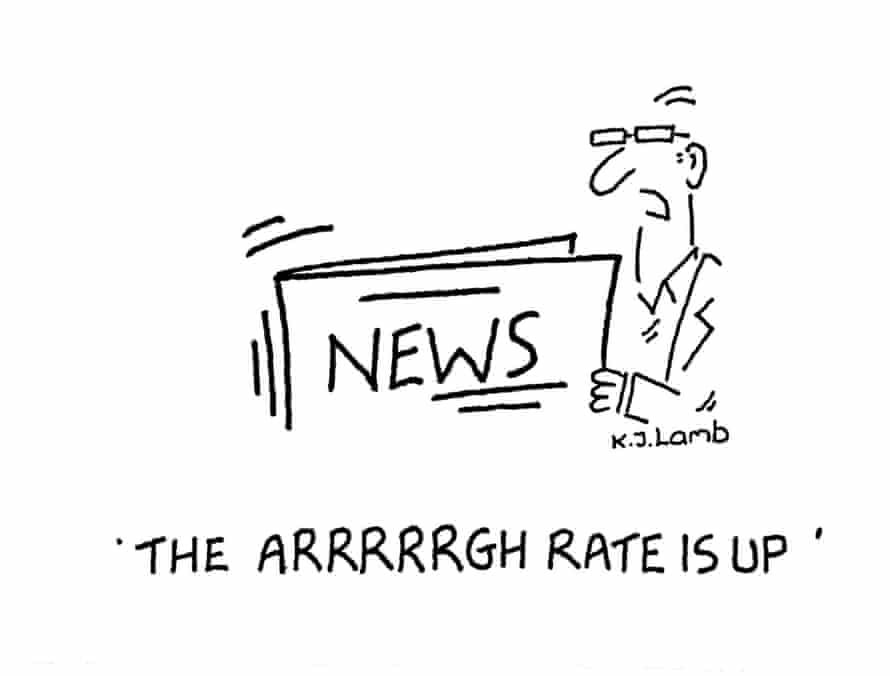The Arrrrrgh Rate Is Up by Kathryn Lamb