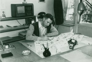 Photograph of Hergé, 1930