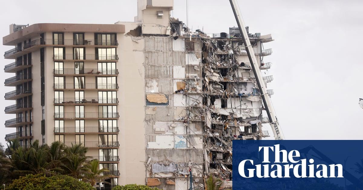 Muerte por colapso de condominio en Miami 16 ya que el clima tiene potencial para afectar el sitio
