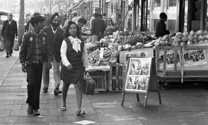 Asian people in Southall, London, in 1972