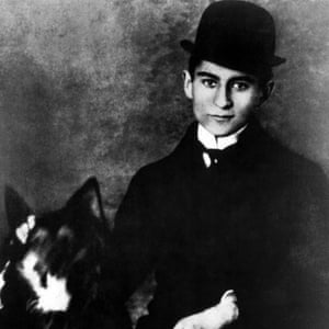 Franz Kafka: said to have developed the first hard hat in 1912.