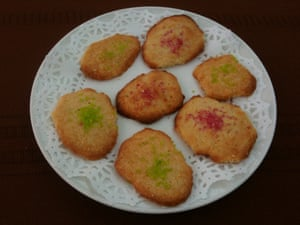 Mari Wallace's butter cookies, made to her mother's recipe.