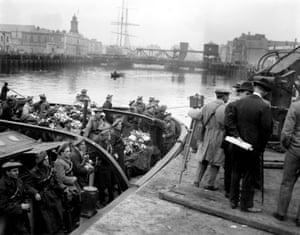 La Guerra de Independencia de Irlanda ... tomada por el fotógrafo de Manchester Guardian Walter Doughty.