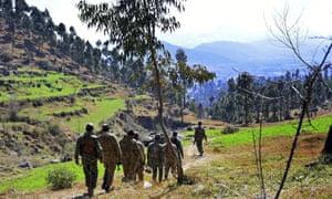 Pakistan forces on patrol
