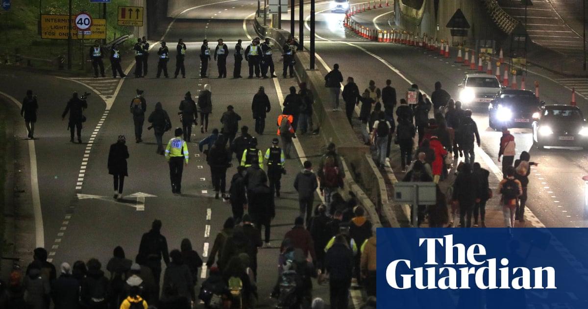 'Kill the bill' protesters clash with police again in Bristol