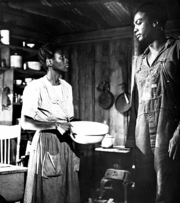 Cicely Tyson and Paul Winfield in Sounder