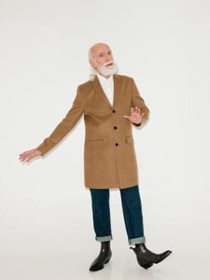 camel coloured coat New Look, white shirt Cos, blue jeans Next, black ankle boots Aldo