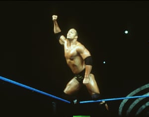 World Wrestling Federation's The Rock in June 2000 in Los Angeles