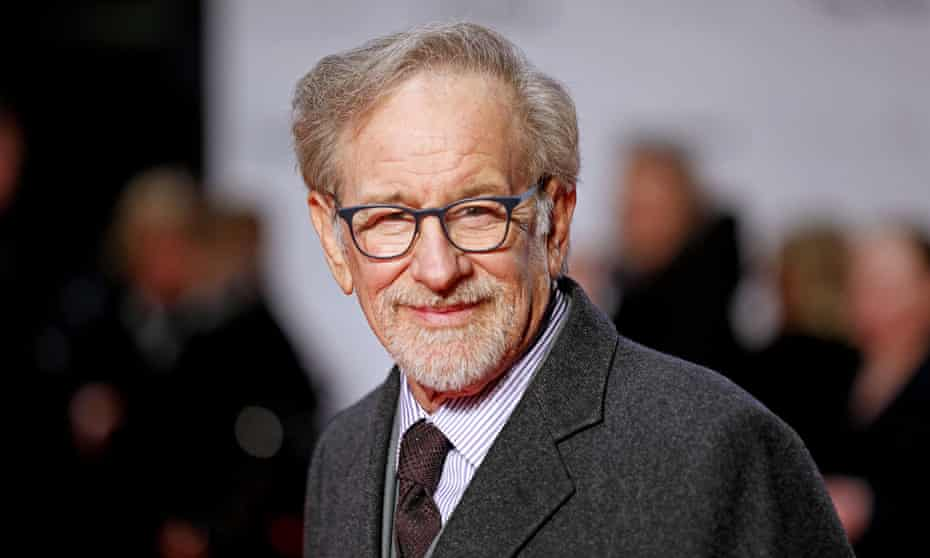 Steven Spielberg at the premiere of The Post