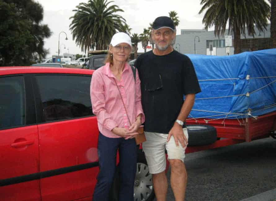 Moving to Tasmania: Mike and Trish and all their worldly possessions