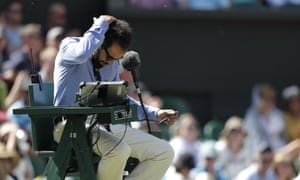The chair umpire