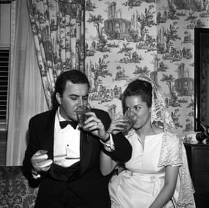 João Gilberto marries his second wife Heloisa Maria Buarque de Hollanda, aka Miucha, in a ceremony on April 22, 1965 in New York.