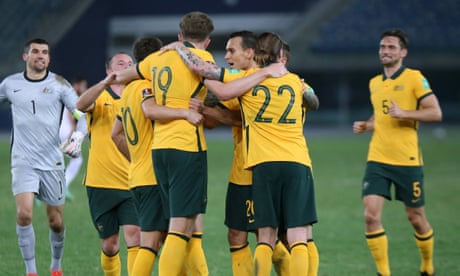 Socceroos wrap up perfect World Cup qualifying phase with win over Jordan