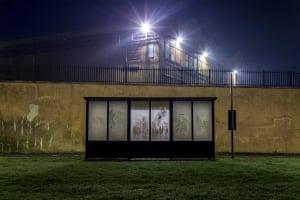 bus shelter photo