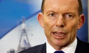 Tony Abbott in Perth on Friday.