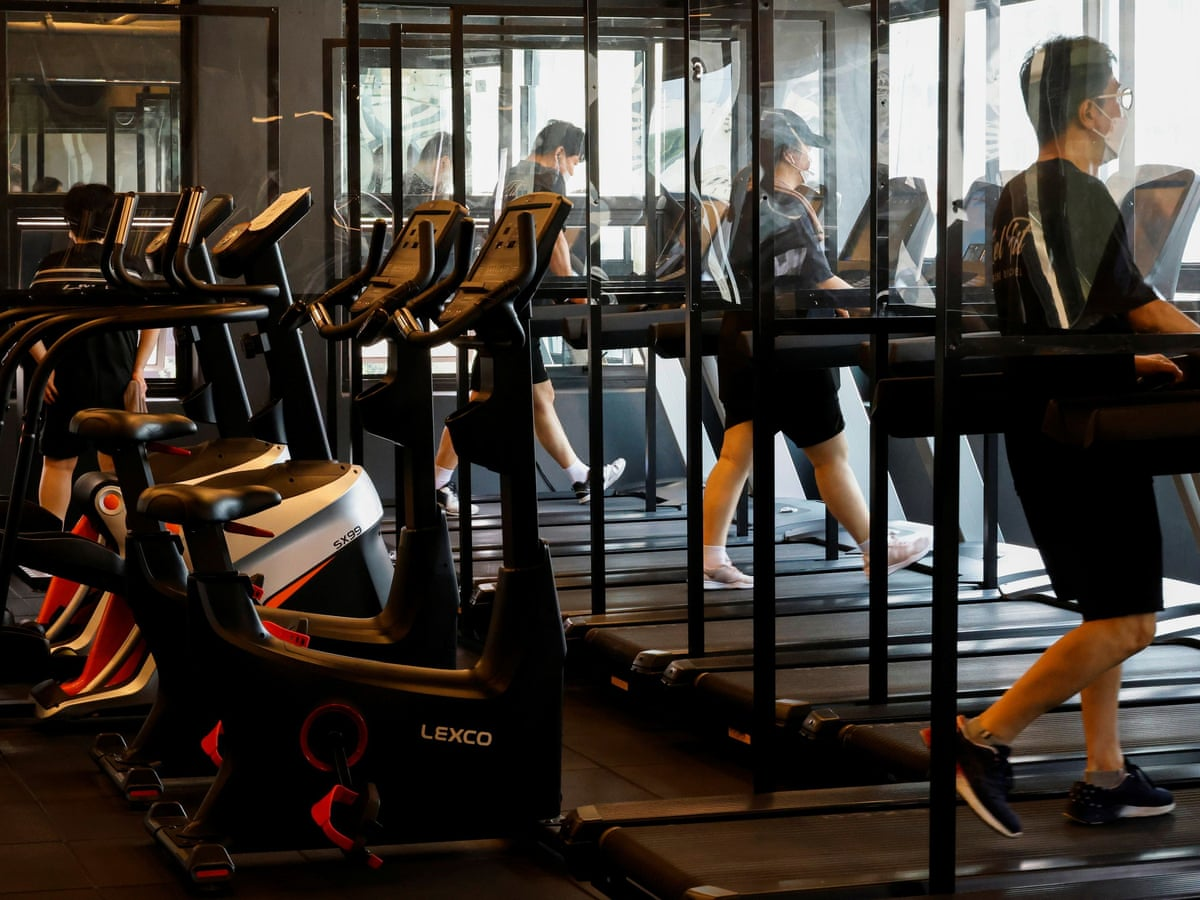 No Permission to Dance: South Korea Covid rules enforce slower music in gyms  | South Korea | The Guardian