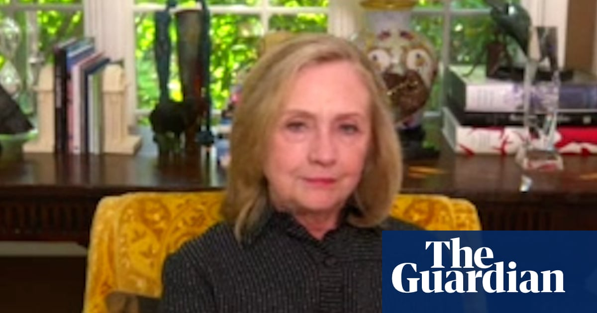 Hillary Clinton: US still faces 'real battle for democracy' – video