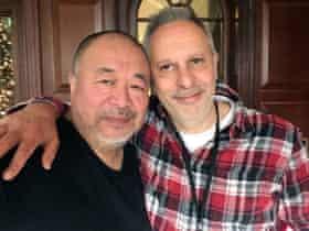 Ai Weiwei with Simon Hattenstone