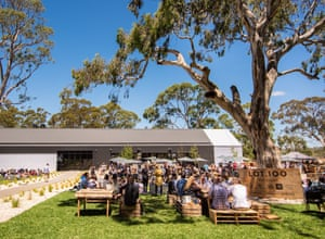 Lot 100 cellar door in the Adelaide Hills, shared by Vinteloper and other producers.