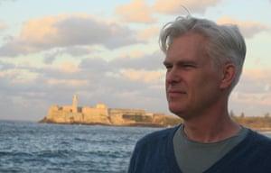Writer Ruaridh Nicoll watches the sunset in Havana, Cuba.