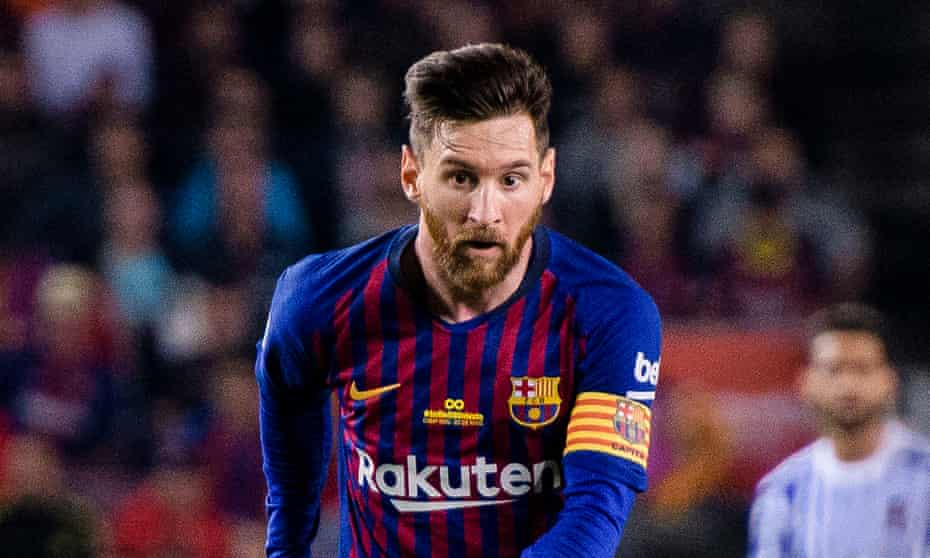 Lionel Messi is one of a number of players boasting a partnership with a blockchain-related company.