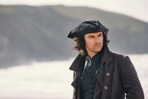 Aidan Turner as the 'handsome, brave, dull' Ross in Poldark