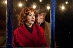 Helen Mirren as Ida and John Hurt as Phil Corkery in Brighton Rock, 2010