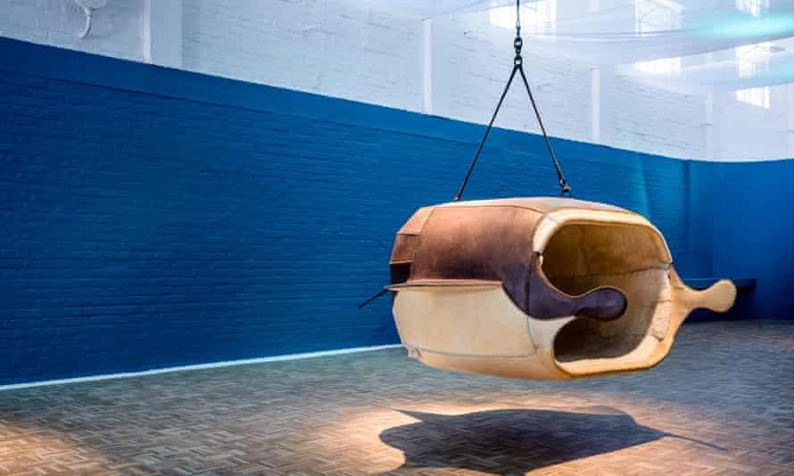 South African designer Porky Hefer's animal-shaped pods.